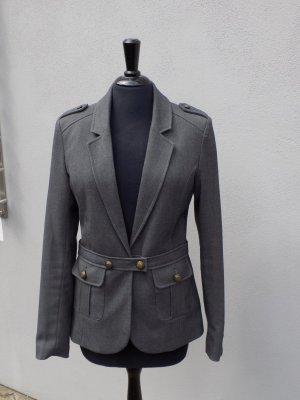 taillierter FRANSA Blazer in grau, Gr. 34