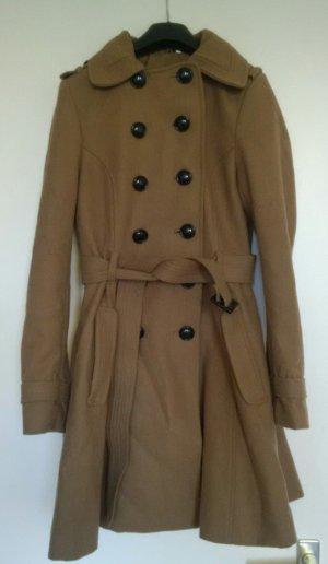 Taillierter kuscheliger H&M Trenchcoat-Mantel