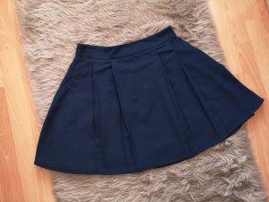 Asos Circle Skirt dark blue
