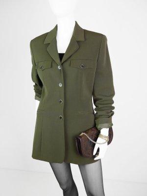 Taillierter Vintage Blazer in Grün