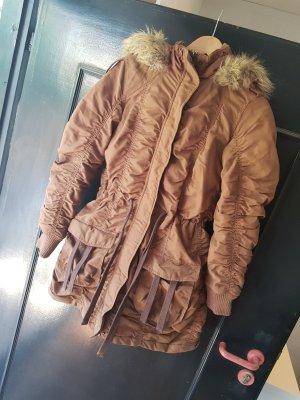 Amazone Cappotto invernale bronzo-marrone