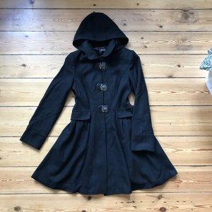 Topshop Winter Coat black