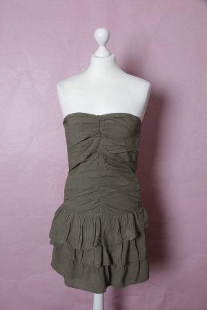 Tailliertes Bustier-Kleid mit Volants NEU #Tally Weijl