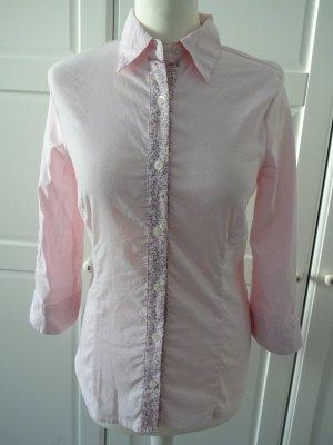 She Blusa-camisa rosa claro-rosa Algodón