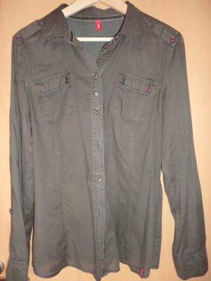 Tailliertes Langarm-Hemd(Esprit)