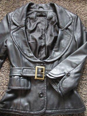 tailliertes Lederjacke von Moda International 34/36