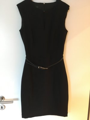 Tailliertes schwarzes Mango Suit Kleid, Gr. S