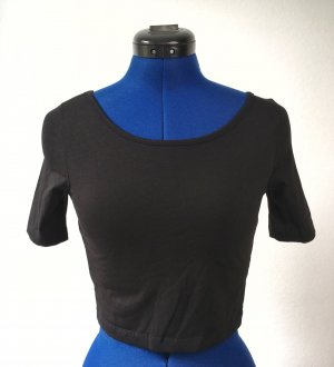 Tailliertes Shirt mit tiefem Rückenausschnitt
