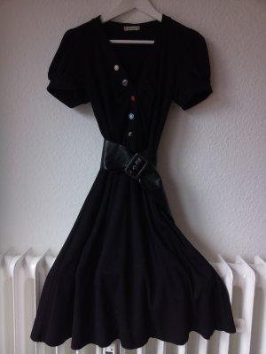 Forever 21 Robe à manches courtes noir