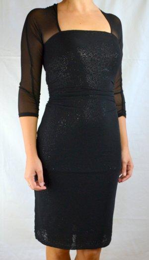 Tailliertes Stretch-Kleid