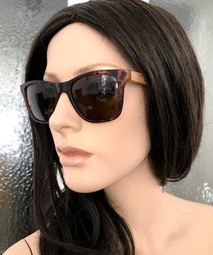 Retro Glasses brown-dark brown