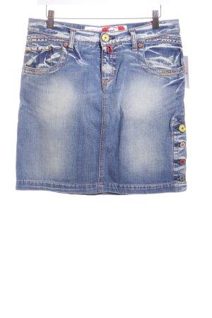 Take Two Jeansrock blau Casual-Look