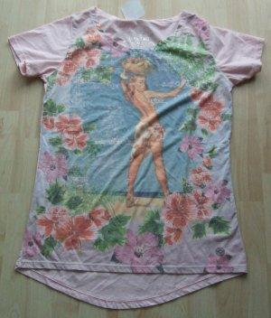 TAKE TWO T-Shirt rosa - Gr. L - NEU