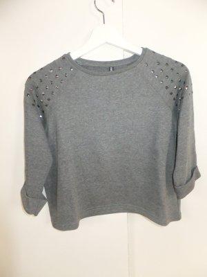 Takko Cropped Sweatshirt mit Nieten