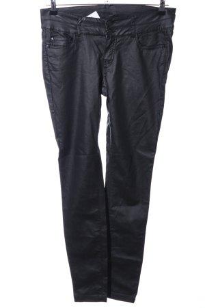 Pantalón de cinco bolsillos negro look casual