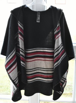 Takko Knitted Poncho multicolored polyester