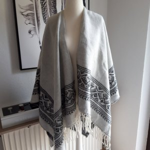 Takko Poncho light grey