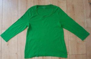 Talbot Petite Langarmshirt Longsleeve Sweatshirt 3/4 Arm Grün M/L 38/40