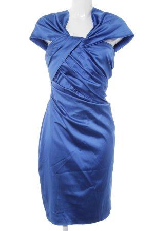 Talbot Runhof Abendkleid neonblau Elegant
