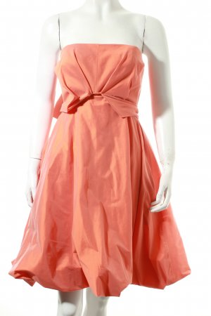Talbot Runhof Kleid orange Eleganz-Look