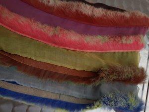 Talbot Runhof Écharpe en soie multicolore soie