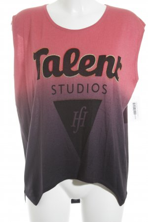 Talent Studios Top de punto degradado de color look casual