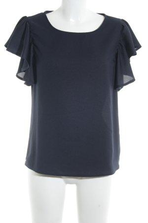 talk about Schlupf-Bluse dunkelblau Elegant