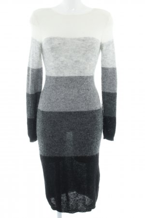 talk about Strickkleid Streifenmuster Casual-Look