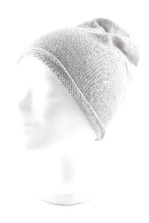 talk about Cappello a maglia grigio chiaro stile casual