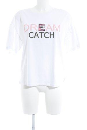 talk about T-Shirt Motivdruck Casual-Look