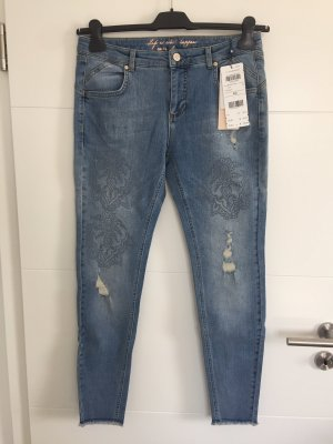 talk about Jeans a 7/8 multicolore
