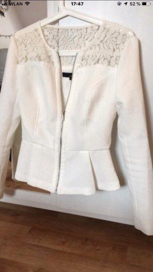 Tally Weijl Short Blazer white