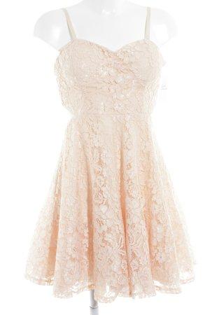 Tally Weijl Vestido bustier albaricoque estilo romántico