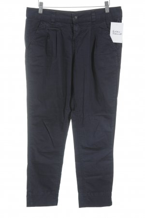Tally Weijl Chinohose dunkelblau Casual-Look