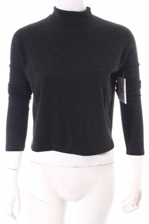 Tally Weijl Cropped Top anthrazit klassischer Stil