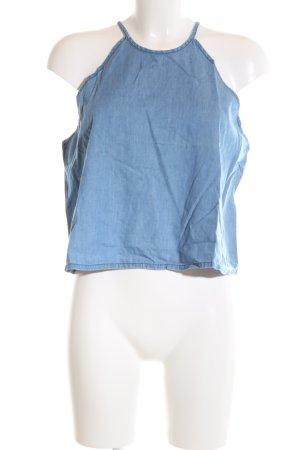 Tally Weijl Cropped Top kornblumenblau Casual-Look