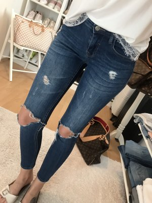 Tally Weijl Destroyed Super Skinny Jeans Blogger Ripped Gr.XS