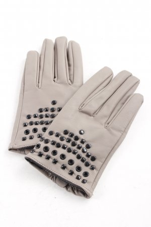 Tally Weijl Gloves grey brown street-fashion look