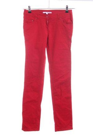 Tally Weijl Pantalón de cinco bolsillos rojo look casual