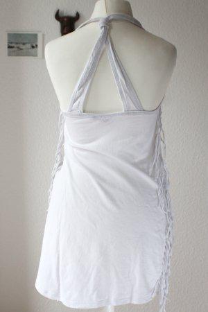 Tally Weijl Robe à franges blanc