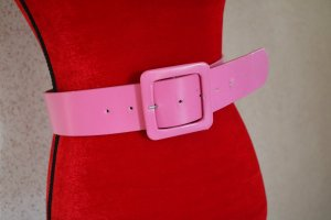 Tally Weijl Ceinture en similicuir rose