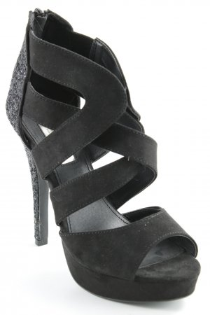 Tally Weijl High Heel Sandal black glittery
