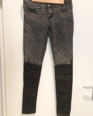 Tally Weijl Hipster Jeans Ombré schwarz