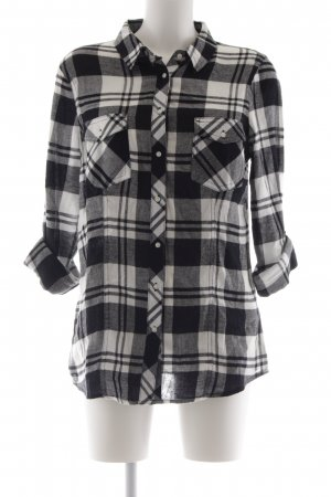 Tally Weijl Lumberjack Shirt natural white-black check pattern boyfriend style