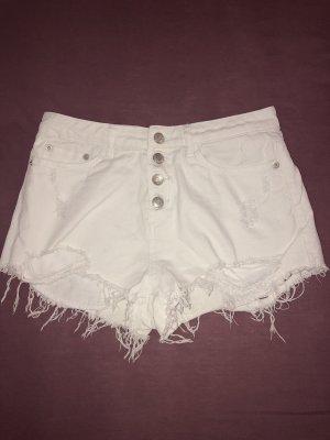 Tally Weijl Pantaloncino di jeans bianco