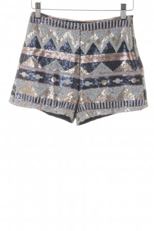 Tally Weijl Hot Pants Streifenmuster Casual-Look