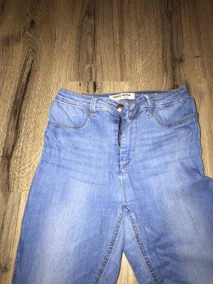 Tally Weijl Jeans a vita alta azzurro