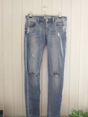 Tally Weijl Jeans hellblau destroyed look