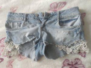 Tally Weijl Jeans Hotpants Spitze