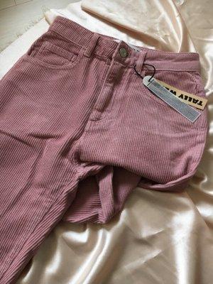 Tally Weijl Hoge taille jeans roségoud-roze